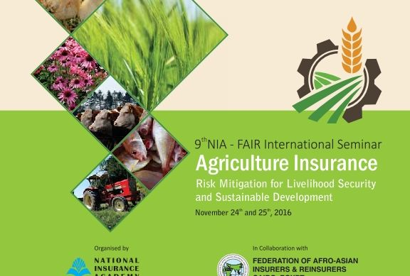 BROCHURE-NIA-FAIR SEMINAR ON AGRICULTRE INSURANCE