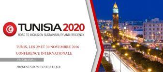 Conférence internationale Tunis, 29 et 30 novembre 2016