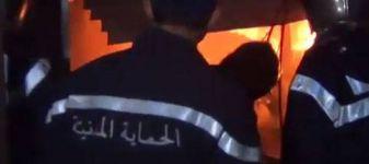 اندلاع حريق بمعمل للملابس المستعملة في الكاف يخلف خسائرا مادية هامة