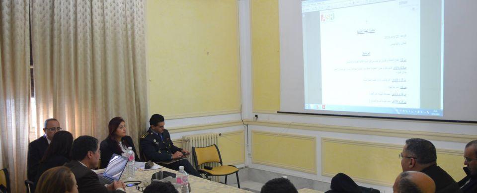 جلسة عمل حول «منظومة المعلومات الخاصة بحوادث المرور في تونس