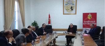 وزير الشؤون الاجتماعية يلتقي وفدا عن الجامعة التونسية لشركات التأمين