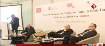 Enquête Nationale sur l'Inclusion Financière en Tunisie