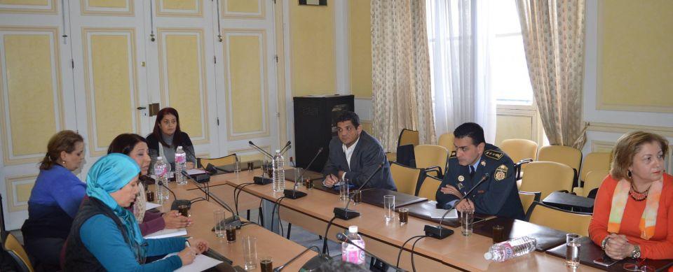 جلسة عمل لمتابعة مشروع تأمين محيط المؤسسات التربوية ببلدية تونس